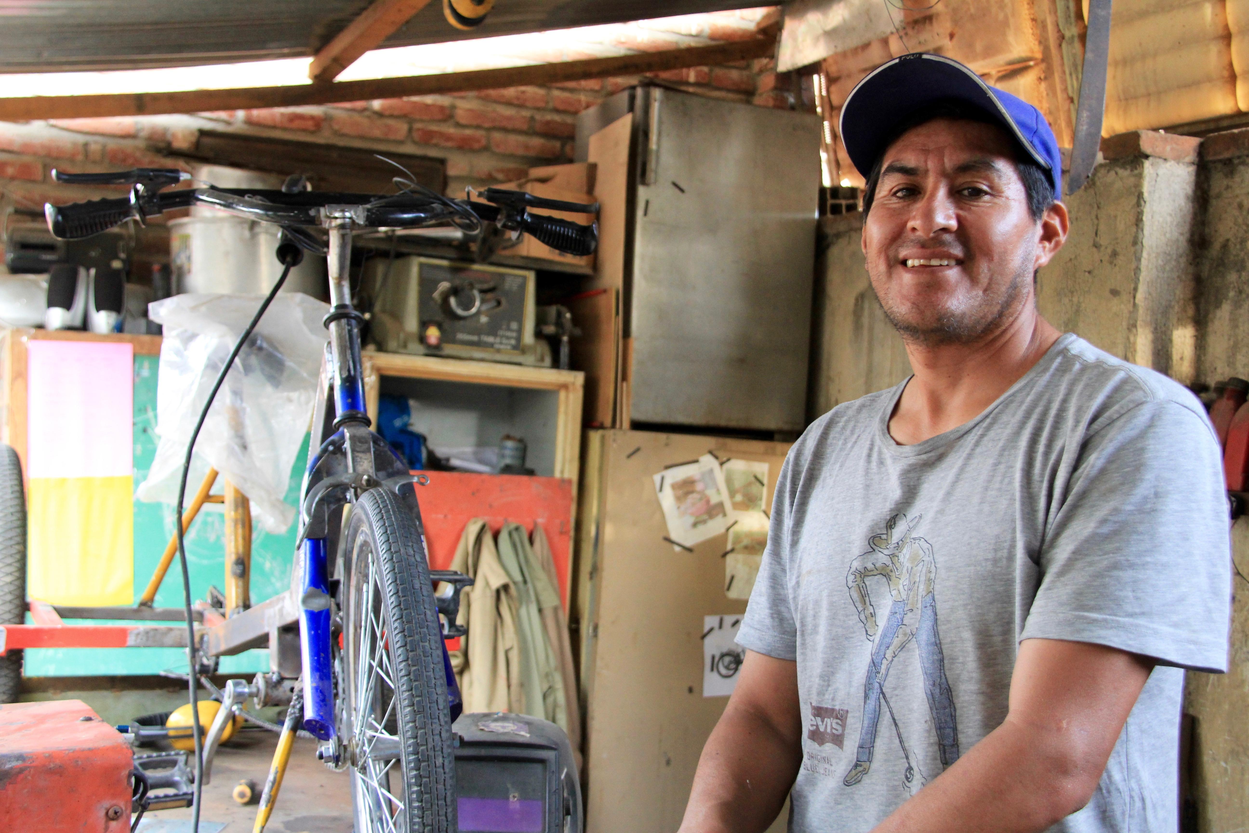 Bolivie – Freddy, le magicien des vélos