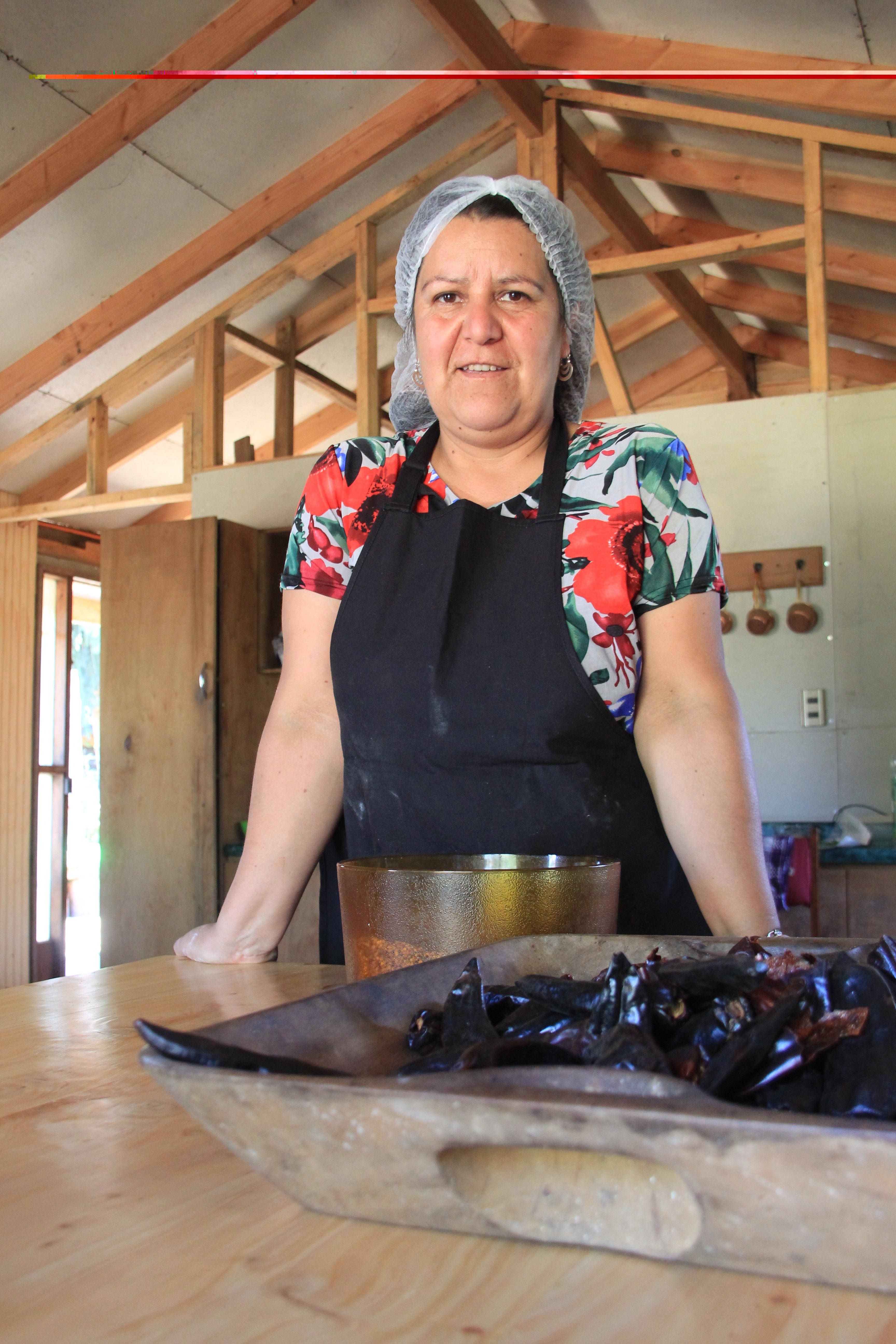 Ginette – Productrice de Merken Mapuche : un produit naturel dans les assiettes chiliennes