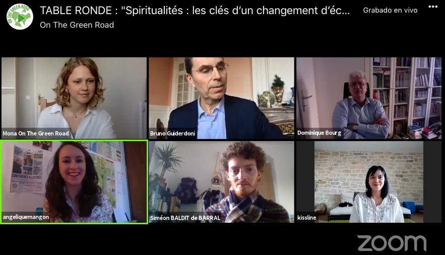 Animation table ronde – «Spiritualités, les clés d'un changement d'échelle écologique»